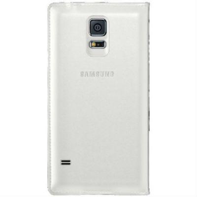 Чехол Samsung Flip Wallet для Galaxy S 5 (белый) EF-WG900BWEG