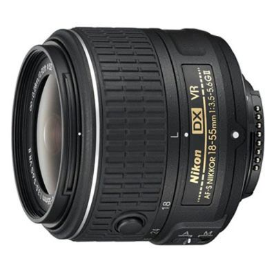 Зеркальный фотоаппарат Nikon D3200 Kit 18-55 VRII [VBA330K009]