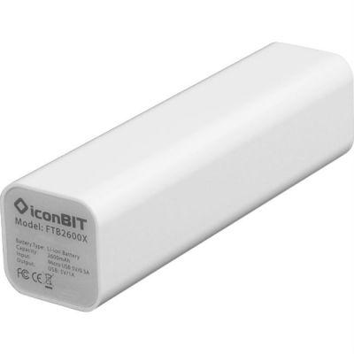 Аккумулятор IconBIT внешний White FTB2600X