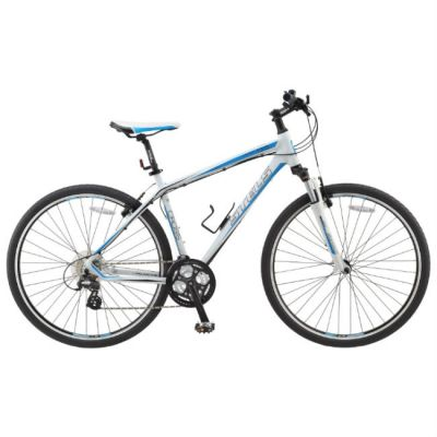 "Велосипед Stels 700C Cross 130 (2014) 19,3"" белый"