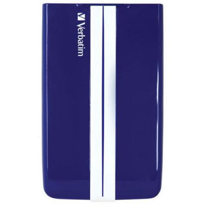 "������� ������� ���� Verbatim USB 3.0 1Tb GT SUPERSPEED 2.5"" blue - white 53083"
