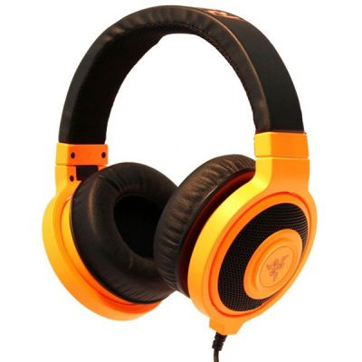 Наушники Razer Kraken Neon Orange RZ12-00870700-R3M1
