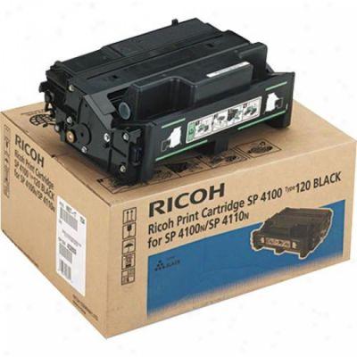 Картридж Ricoh SP4100 Black/Черный (407008)