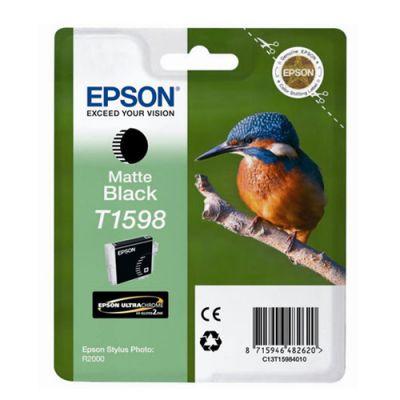 Картридж Epson T1598 Matte black/Матовый Черный (C13T15984010)