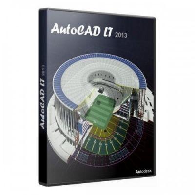 Программное обеспечение Autodesk AutoCAD LT 2013 Commercial New SLM 057E1-R35111-1Q01