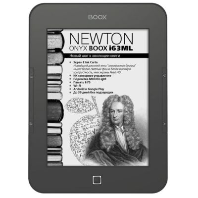 ����������� ����� Onyx Boox i63ML Newton (Grey)