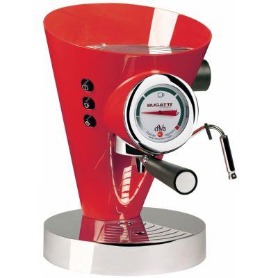 Кофеварка Bugatti DIVA Красный
