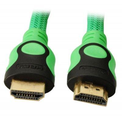 Кабель IconBIT HQC HDMI 301G (зеленый)