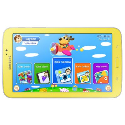 Планшет Samsung SM-T210 Kids 8Gb (Yellow) SM-T2105GYASER