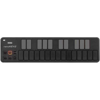 Миди-клавиатура KORG NANOKEY2-BK