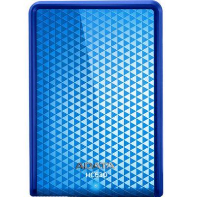 Внешний жесткий диск ADATA HC630 HDD USB3.0 1TB DashDrive Blue AHC630-1TU3-CBL