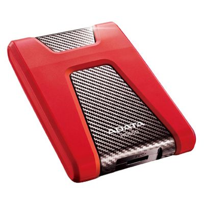������� ������� ���� ADATA HD650 HDD USB3.0 1TB DashDrive Red AHD650-1TU3-CRD