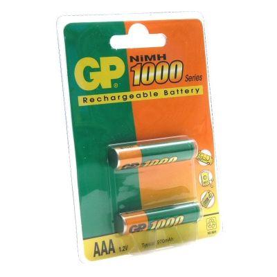 Аккумулятор GP 1000mAh AAA (2шт) 100AAAHC-CR2