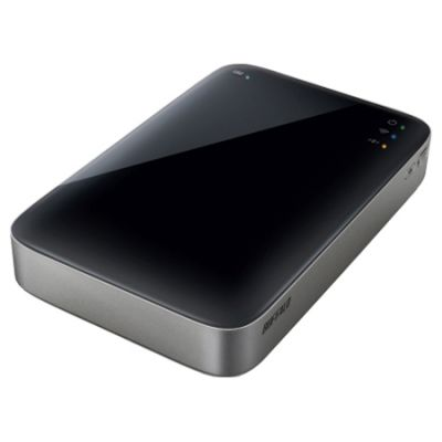 ������� ������� ���� Buffalo MiniStation Air Mobile Wireless Storage 500GB HDW-P500U3-EU