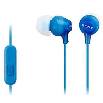 Наушники Sony MDR-EX15AP Blue MDREX15APLI.CE7