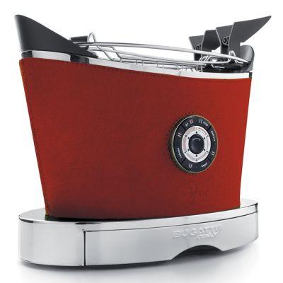 Тостер Bugatti VOLO красная кожа