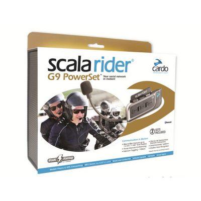 Мотогарнитура Scala Rider G9x Power Set