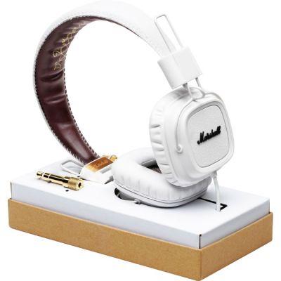 Наушники с микрофоном Marshall Major White