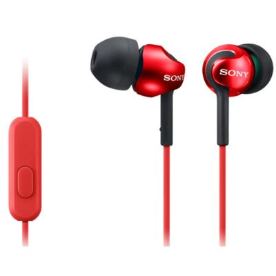 Наушники Sony MDR-EX110AP (Red) MDREX110APR.CE7