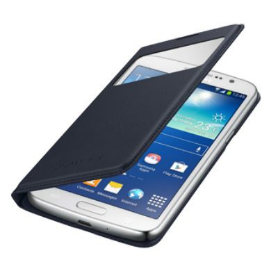 Чехол Samsung S View Cover для Galaxy Grand 2 (черный) EF-CG710BBEG