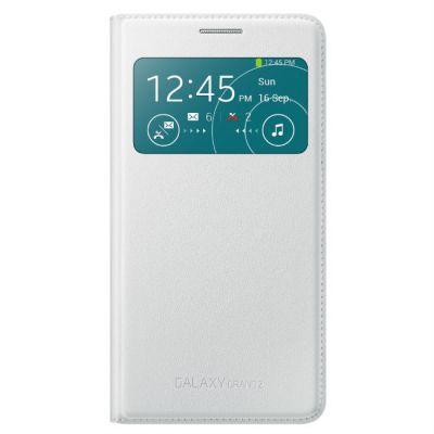 Чехол Samsung S View Cover для Galaxy Grand 2 (белый) EF-CG710BWEG