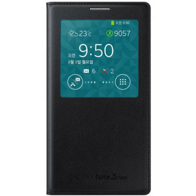 ����� Samsung S View Cover ��� Galaxy Note 3 Neo (������) EF-CN750BBEG