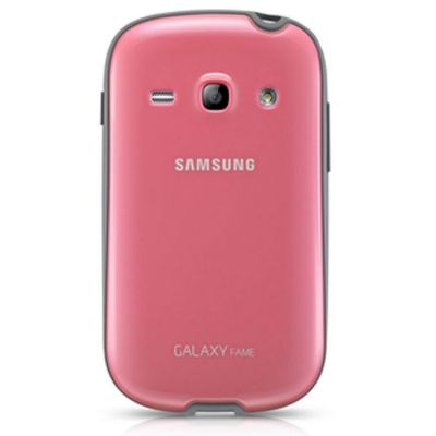 Чехол Samsung для Galaxy Fame (розовый) EF-PS681BPEG