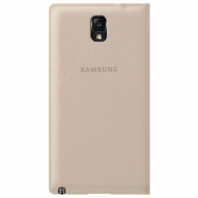 Чехол Samsung Flip Wallet для Galaxy Note 3 (бежевый) EF-WN900BUEG