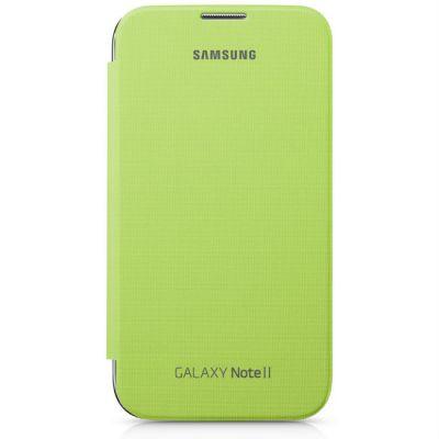 Чехол Samsung для Galaxy Note II (зеленый) EFC-1J9FLEGSER