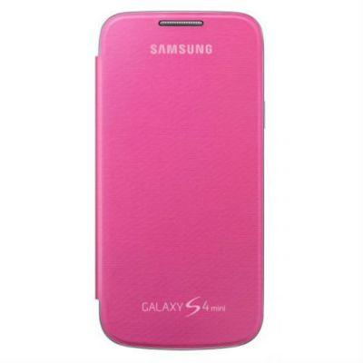 Чехол Samsung для Galaxy S 4 mini (розовый) EF-FI919BPEG