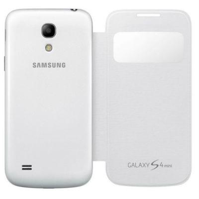 Чехол Samsung S View для Galaxy S 4 mini (белый) EF-CI919BWEG