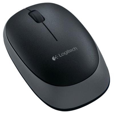 Мышь беспроводная Logitech Logitech Wireless Mouse M165 Black 910-004110