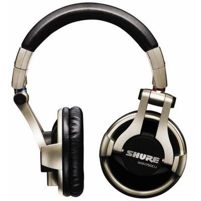 DJ наушники Shure SRH750DJ