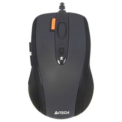 Мышь проводная A4Tech N-70FX Black USB