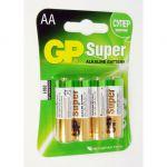 Батарейки GP 15A-BC4 AA 4шт