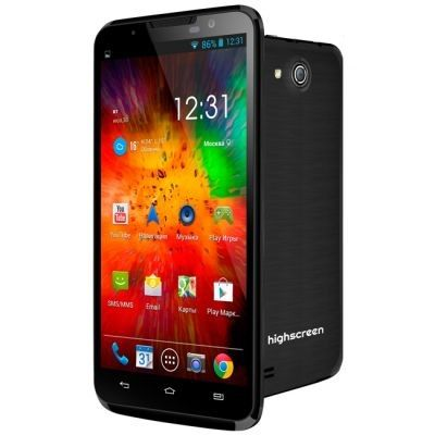 Смартфон Highscreen Alpha R 4Gb 3G Black