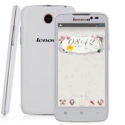 Смартфон Lenovo A516 Dual SIM White P0LM003NRU