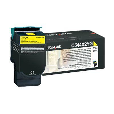 Картридж Lexmark тонер-картридж сверх повышенной емкости, желтый C544X2YG