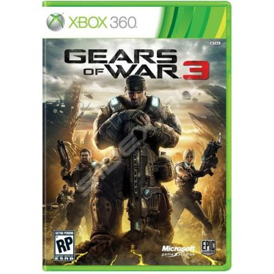 ���� ��� Xbox 360 Game Gears of War 3 D9D-00016