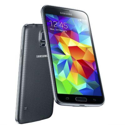 Смартфон Samsung Galaxy S5 SM-G900F 16Gb Black SM-G900FZKASER