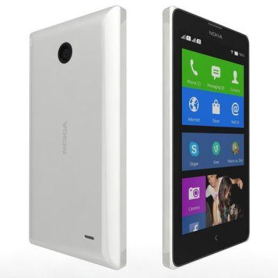 Смартфон Nokia X Dual Sim White RM-980 A00019034