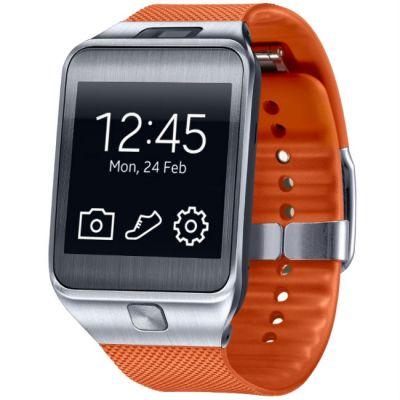 Samsung смарт-часы Galaxy Gear 2 (оранжевый) SM-R3800MOASER