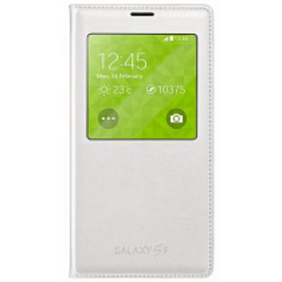 Чехол Samsung S View для Galaxy S 5 (белый) EF-CG355BWEG
