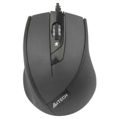 Мышь проводная A4Tech V-Track N-600X-1 Padless