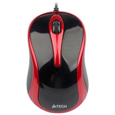 Мышь проводная A4Tech V-Track N-360-2 Padless