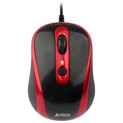 Мышь проводная A4Tech V-Track N-250X-2 Padless
