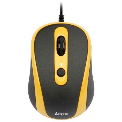 Мышь проводная A4Tech V-Track N-250X-3 Padless