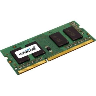 ����������� ������ Crucial 4GB DDR3 PC3-12800 Unbuffered NON-ECC 1.35V CT51264BF160B