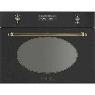 Встраиваемая микроволновая печь SMEG SC845MAO9
