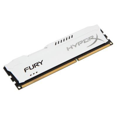 Оперативная память Kingston DIMM 8GB 1600MHz DDR3 CL10 HyperX FURY White Series HX316C10FW/8